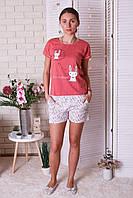 Комплект трикотажный футболка и шорты Nicoletta, фото 1