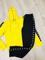 Спортивный костюм с капюшоном Adidas | логотип лампас, фото 1
