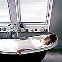 Жалюзі VELUX PAL вологостійкі на направляючих для мансардних вікон жалюзи Велюкс влагостойкие, фото 5