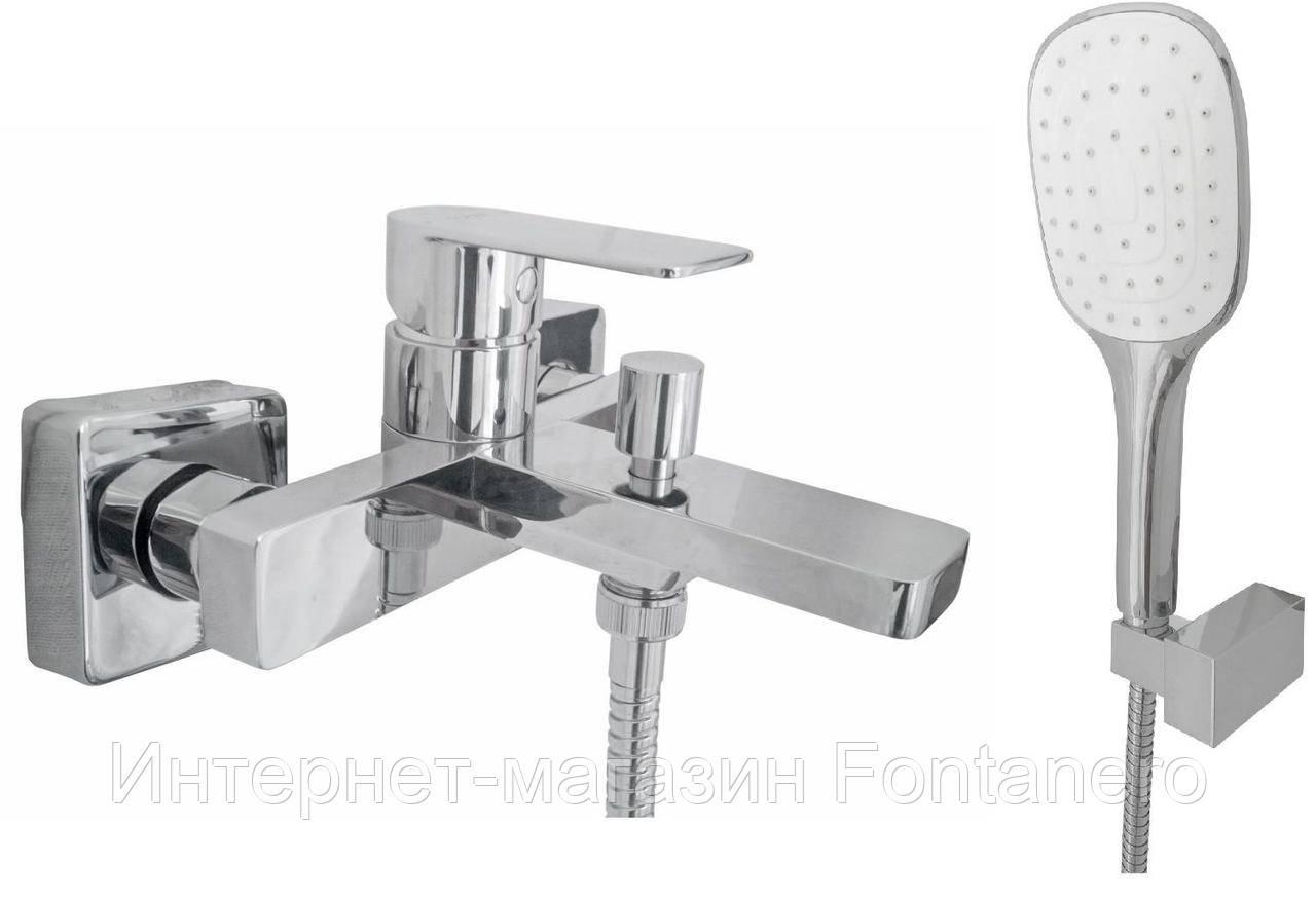 Смеситель для ванны TOPAZ SARDINIA-TS 08131-H19-EURO, душевой комплект