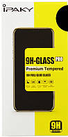 Защитнoe стекло для iPhone 7 Plus, iPhone 8 Plus, Full Glue 5D, черное, С полной проклейкой, IPAKY