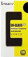 Захисне скло для Huawei P Smart, Full Glue 5D, біле, З повною проклейкою, IPAKY