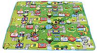 Коврик (покрывало) детский для пикника, Коврик для ребенка на природу, Подстилка детская, Непромокаемый коврик