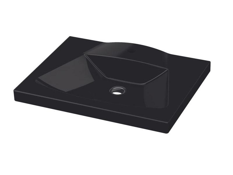 Vega Умывальник 65 см черный 2801-0505-07 IDEVIT