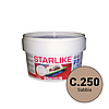 Litokol Starlike Classic Collection С.250 Песочный 2,5 кг затирка двухкомпонентная для укладки плитки , фото 2