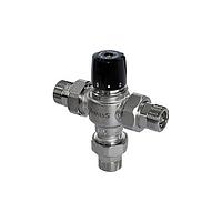 "Термосмесительный клапан BRV 1""1/4M 35-65C Kv 5 m3/h with check valves and filters"