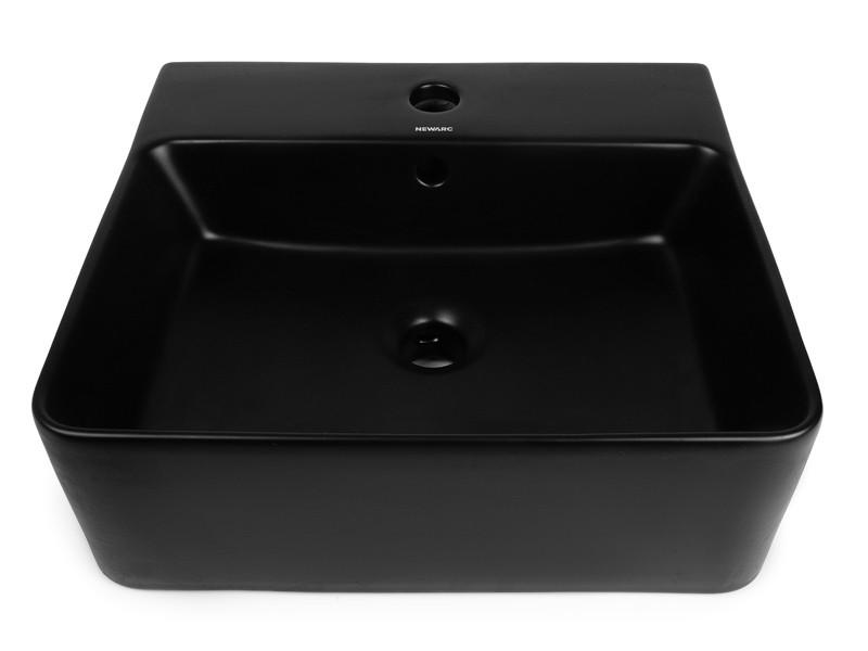 Countertop Умывальник 5025B-M черный матовый NEWARC