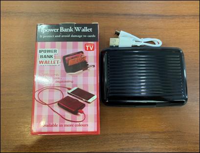 Кошелек - зарядка E-Charge Wallet (power bank)