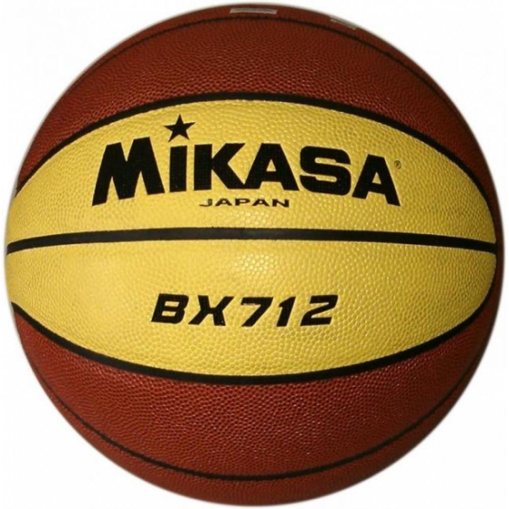 Мяч баскетбольный Mikasa размер 7 композитная кожа (BX712)
