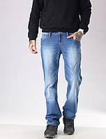 Мужские джинсы прямые FB 3420 Mos 3021 синие