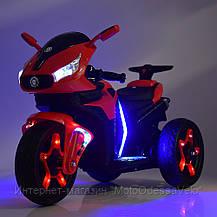 Детский электромотоцикл BAMBI M 3965L-3, фото 3