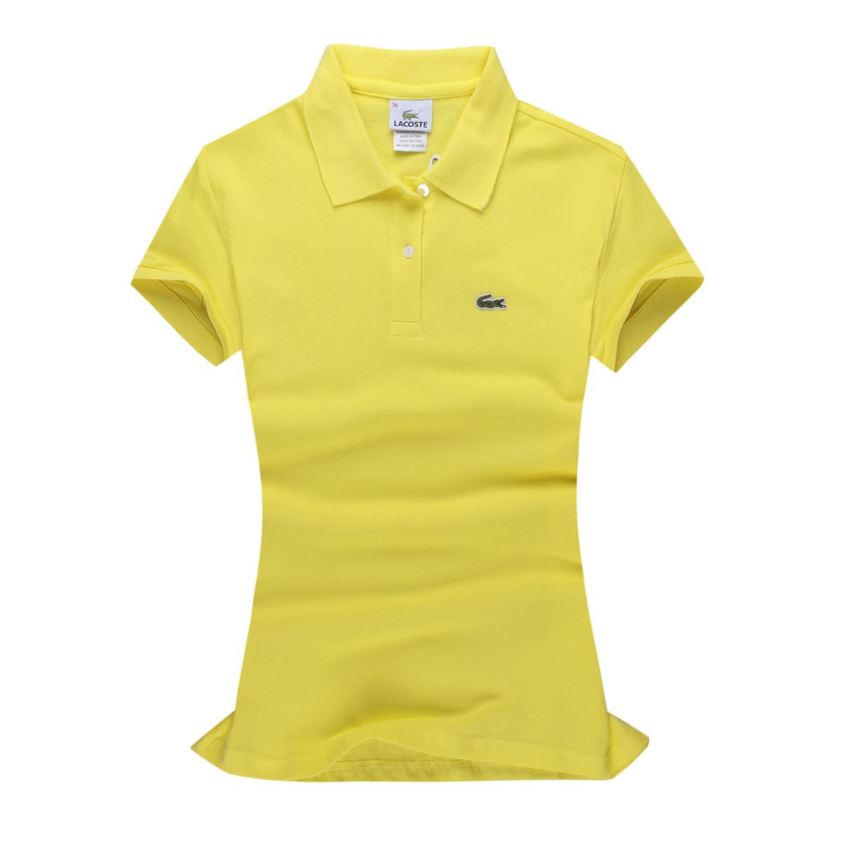 Lacoste 100% бавовна РІЗНІ кольори жіноча футболка поло лакоста