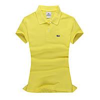 Lacoste 100% хлопок РАЗНЫЕ цвета женская футболка поло лакоста, фото 1