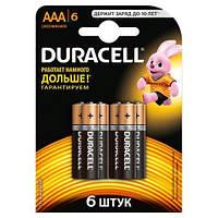 Батарейки DURACELL LR3 AAA 6 шт