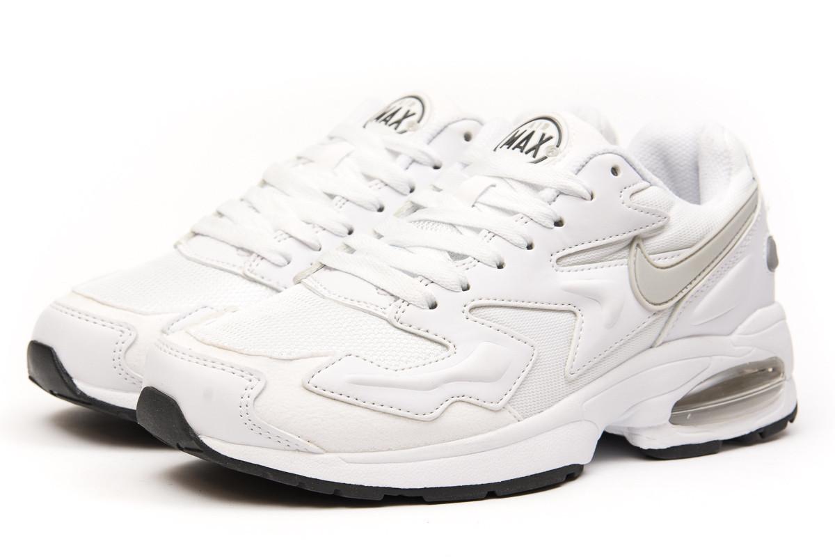 17e61608 Кроссовки мужские Nike Air Max, белые (15234) размеры в наличии ▻ [ 43