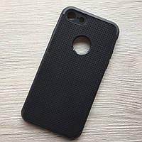 Противоударный черный чехол ipaky для iPhone 6/6S в упаковке