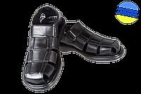Мужские комфортная летняя обувь сандали  mida 13138ч чёрные   летние