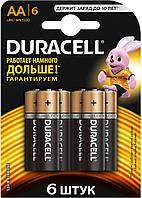 Батарейки DURACELL LR6 AA 6 шт