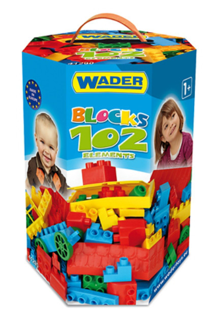 Конструктор 102 елемента Wader 41290