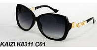 Женские солнцезащитные очки KAIZI 8311 с розочками на дужках