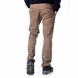 Мужские джинсы демисезонные 16-172 хаки, фото 3