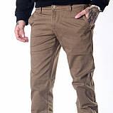 Мужские джинсы демисезонные 16-172 хаки, фото 4