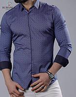 882461a93e7 Стильная мужская рубашка с длинным рукавом (Турция)