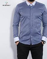 3e97af3a2b6 Стильная мужская рубашка с длинным рукавом из Турции