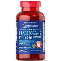 Рыбий жир Puritan's Pride Omega 3 Fish Oil 1200mg  200 caps