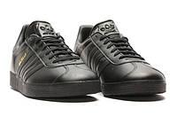 "✔️ Кроссовки Adidas Gazelle Leather ""Black"""