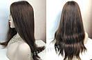 Уценка! Парик из натуральных волос с имитацией кожи головы, фото 5