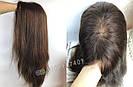 Уценка! Парик из натуральных волос с имитацией кожи головы, фото 6