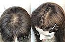 Уценка! Парик из натуральных волос с имитацией кожи головы, фото 8