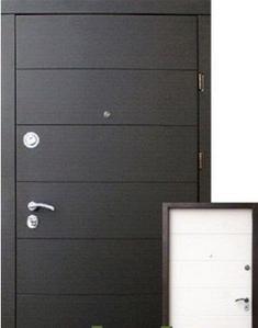 Двери X 001 Элит венге/белый суппермат «Стильные двери» (Украина)