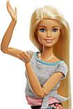 Барби йога безграничные движения шарнирная кукла Barbie Made To Move Doll, Blonde Бабрі йога блондинка, фото 3