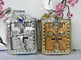 Міні біблія срібна (аксесуари для ляльок), фото 4