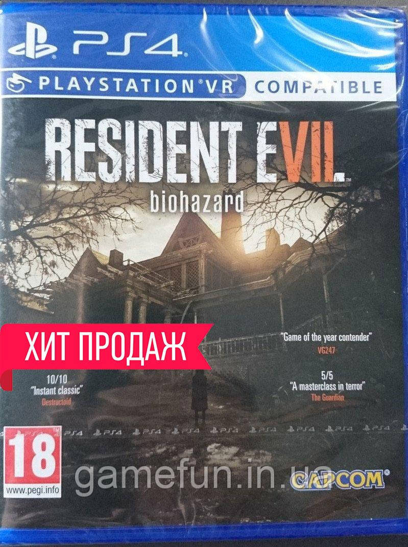 Resident Evil 7 Biohazard PS4 (Русские субтитры)