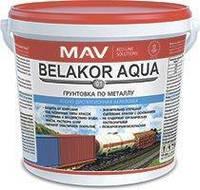 Грунтовка Belakor AQUA 01 по металлу красно-коричневая 1 л