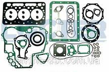 Комплект прокладок (повний) двигуна KUBOTA D722, Запчастини Kubota, кубота запчастини