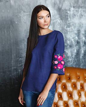 Яркая блуза-вышиванка женская (размеры XS-3XL в расцветках)