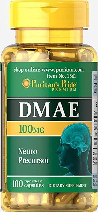 ДМАЕ Puritan's Pride DMAE 100 mg 100 caps