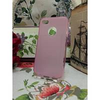 TPU Матовый силиконовый чехол iPhone 4/4S Розовый
