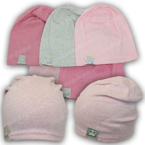 Молодежные трикотажные шапки, р. 46-48, 50-52