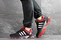 4093323cd1e2fd Чоловічі кросівки 3583 Adidas Equipment чорні з червоним, цена 862 ...