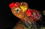 Садовая фигура курица, фото 2