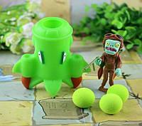 Растения против зомби | Plants vs Zombies Игровой набор № 7 (Растения стреляют шариками в зомби,есть 40+видов)