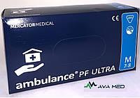 Перчатки AMBULANCE PF ULTRA латексные повышенной прочности