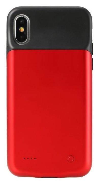 Чохол акумулятор AmaCase для iPhone X/XS Червоний (3200 маг)