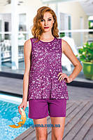 Комплект женский  шорты - майка, пижама Lady 7551