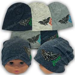 Детские трикотажные шапки от производителя Польша, р. 42-44